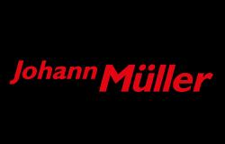 Logo Spedition Johann Müller, Werbeagentur, Werbung,