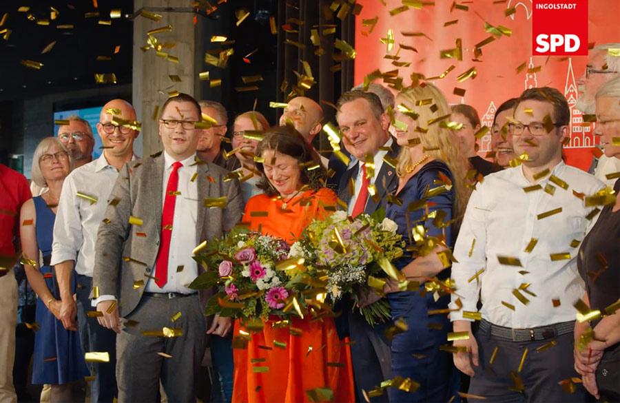Zusammenarbeit SPD Ingolstadt mit Werbeagentur Plattform Pathos
